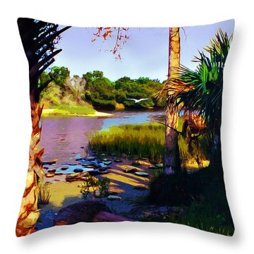 Gaterland Throw Pillow