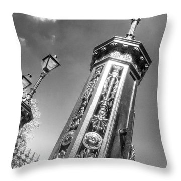 Gates To Eternity Throw Pillow