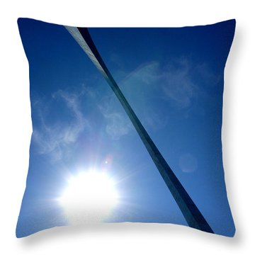 Throw Pillow featuring the photograph Arch Study 2 by Christopher McKenzie