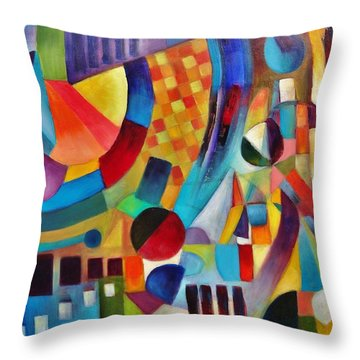 Gateway Throw Pillow by Jason Williamson