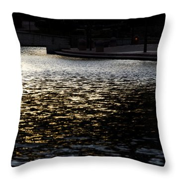 Gateway Park Pueblo Throw Pillow