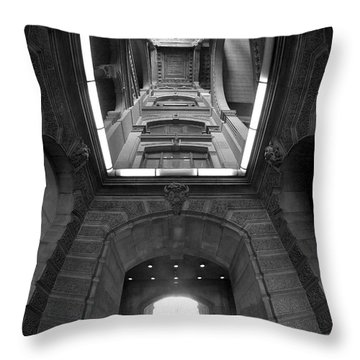 Gateway To A Forgotten Land Throw Pillow