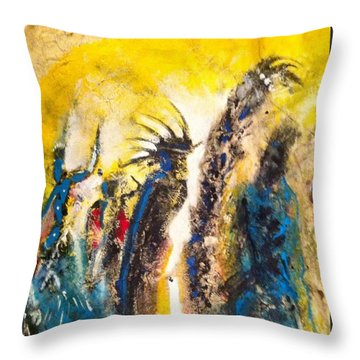 Gathering 2 Throw Pillow