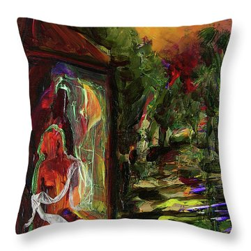 Gauguin's Polynesia  Throw Pillow