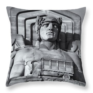 Guardian Of Traffic II Throw Pillow