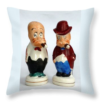 Gay Shakers Throw Pillow