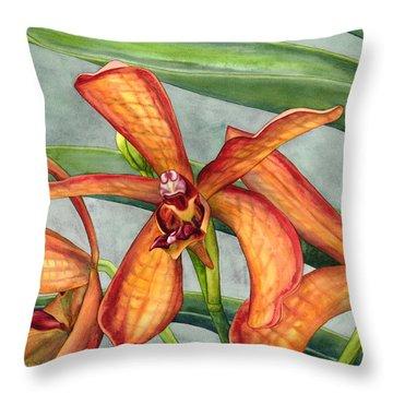 Gayety Throw Pillow by Lynda Hoffman-Snodgrass