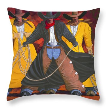 Good Bad And Ugly Throw Pillow