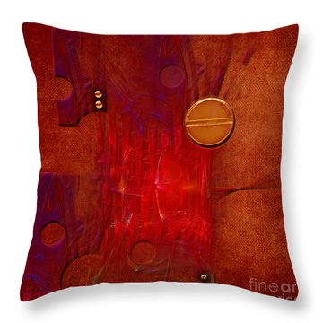 Gear Throw Pillow