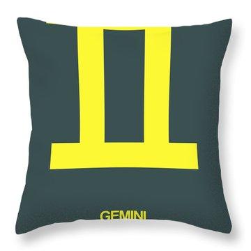 Gemini Throw Pillows