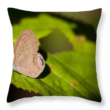 Gemmed Satyr Throw Pillow