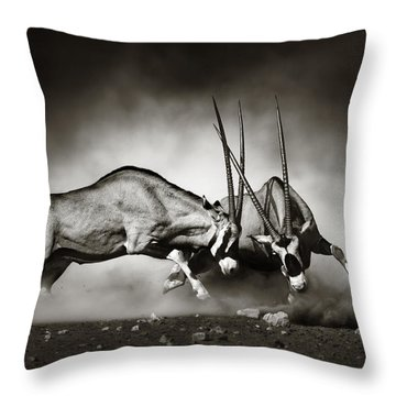 Gazelle Throw Pillows