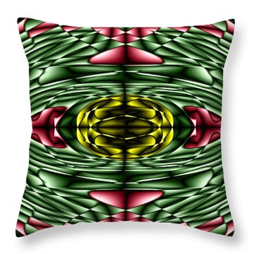 Gemstone Throw Pillow by Cbhristopher Gaston