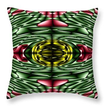 Gemstone Throw Pillow by Cbhristopher Gaston