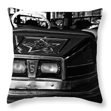 Throw Pillow featuring the photograph Gene Vincent by Adrian Pym