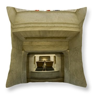 General Grant National Memorial Throw Pillow by Susan Candelario
