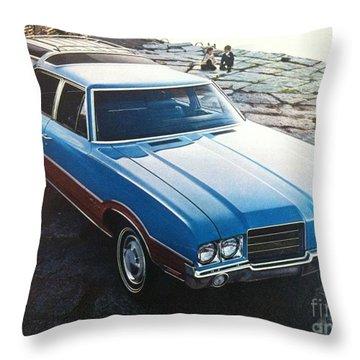 General Motors Posters Throw Pillow