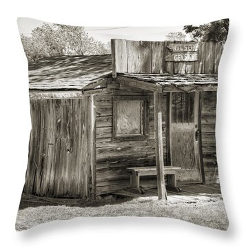 General Store II Throw Pillow