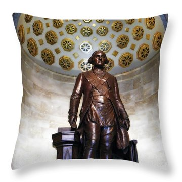 General Washington Throw Pillow