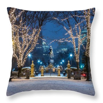 General Washington Under The Lights Throw Pillow