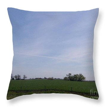 Throw Pillow featuring the photograph Generations by Bobbee Rickard