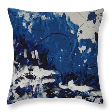 Genesis II Throw Pillow