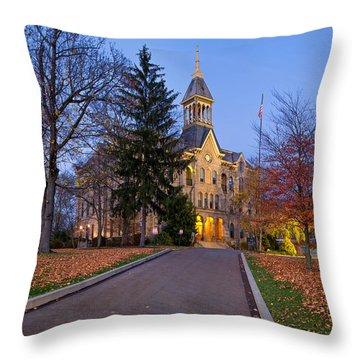 Geneva College Throw Pillow
