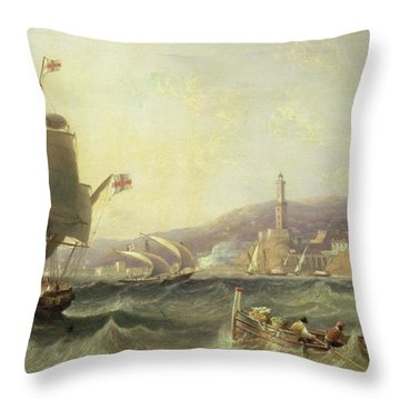 Genoa Throw Pillow by John Wilson Carmichael