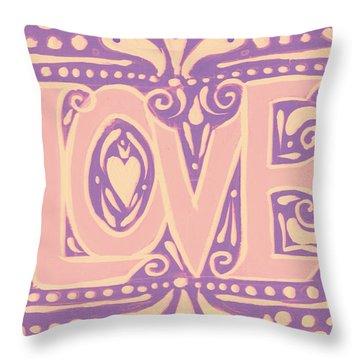 Gentel Love  Throw Pillow