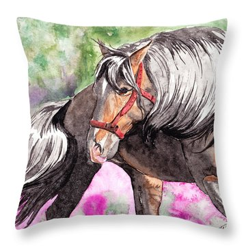 Gentle Dignity Throw Pillow
