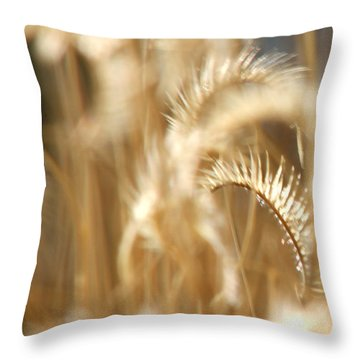 Gentle Life Throw Pillow