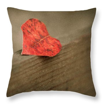 Gentle Reminder Throw Pillow by Carlee Ojeda