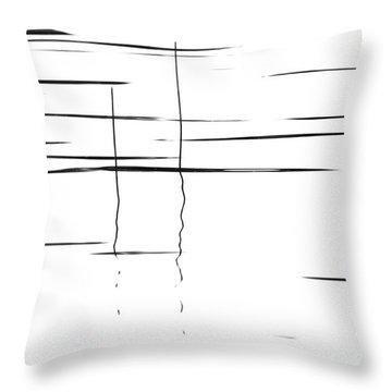 Gentle Waves Throw Pillow by Andrea Kollo