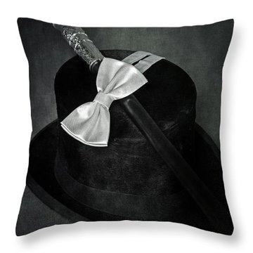 Gentleman Throw Pillow by Joana Kruse