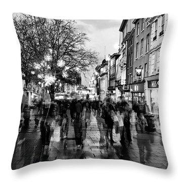 Gentleman's Ghosts Throw Pillow