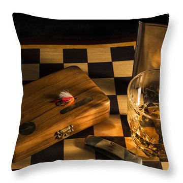 Gentlemen's Weekend Throw Pillow