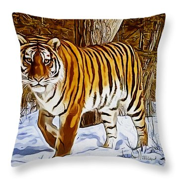 Gently Great Throw Pillow