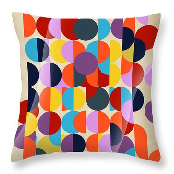 Geo Geo  Throw Pillow by Mark Ashkenazi