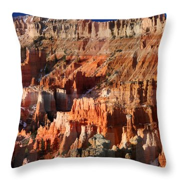 Geology Triptych - Three Throw Pillow
