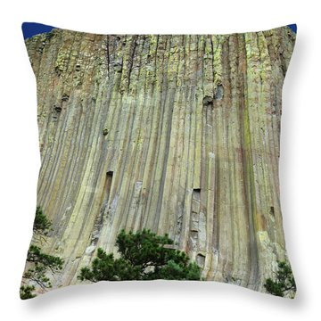 Geology Triptych - Two Throw Pillow