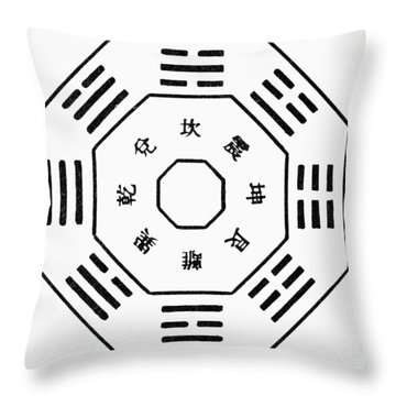 Hexagram Throw Pillows
