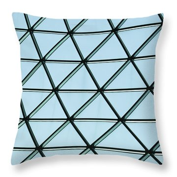 Geometric Charm Throw Pillow