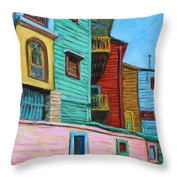 Geometric Colours II Throw Pillow