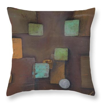 'geometric' Throw Pillow
