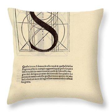 Platonic Throw Pillows