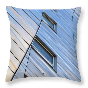 Geometry Throw Pillow by Yue Wang