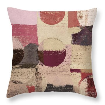 Geomix 01 - C19a2sp5ct1a Throw Pillow by Variance Collections