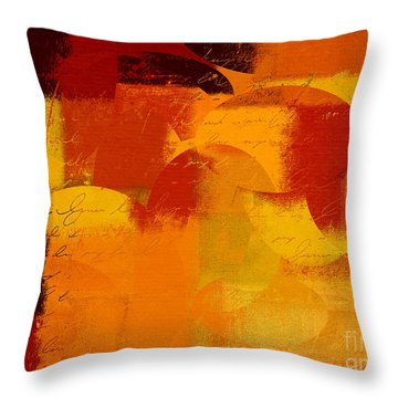 Geomix 05 - 01at01b Throw Pillow by Variance Collections