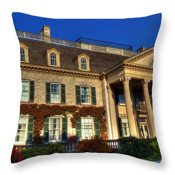 George Eastman House Hdr Throw Pillow by Tim Buisman