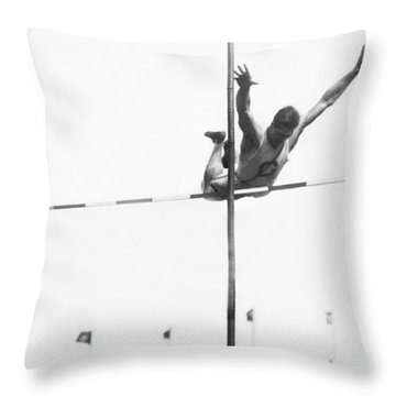 Georgetown Decathlon Star Throw Pillow by Underwood Archives